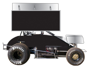 Custom Wing Sprint Graphics