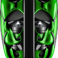 Custom SX9 Jet Green Graphics
