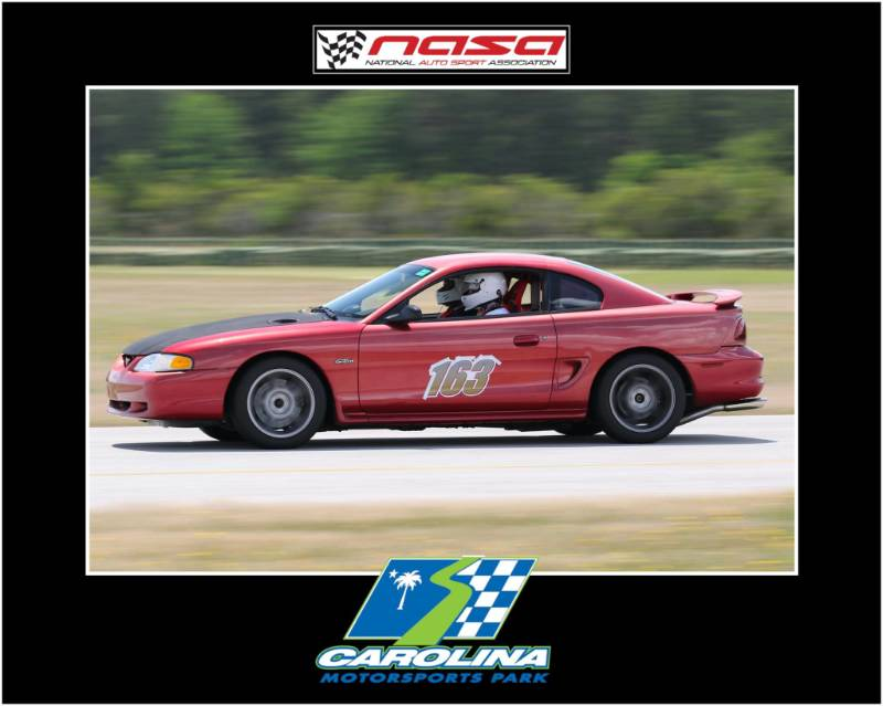 Sn95 mustang Car Door Marking for NASA SE HPDE Event Lettering from joshua r, SC