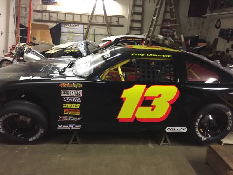 Late model  Lettering from Donald M, CT