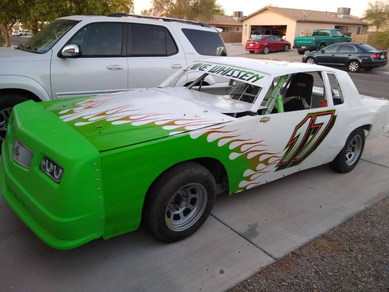 2019 IMCA Hobby Stock Lettering from Michael W, AZ