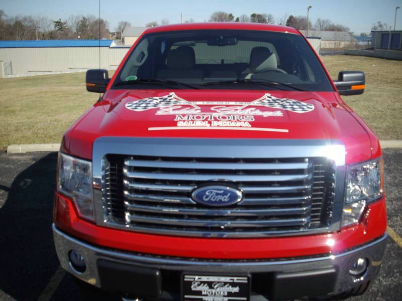 Hood Decal Ford F150