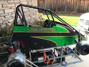 Quarter Midget Lettering from Michael  S, CA
