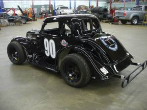 INEX legend car Lettering from Christine B, MA