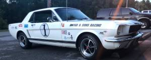 1965 Mustang Coupe Car Lettering from Mike D, FL