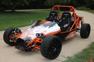 2018 DF Goblin Custom Kit Car my son and I built using a 2007 Chevy Cobalt SS/SC Lettering from Chad T, MO