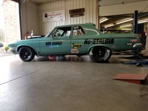 1963 Dodge Drag car Lettering from NEIL L, PA