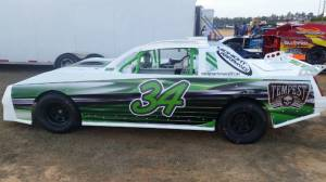 Race car  Lettering from Richard R, NC