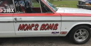 1965 Dodge Dart Race car Lettering from Timothy C, MI