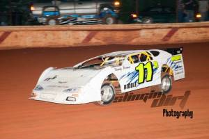 Great Dirt Late Model Race Car Graphic