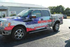 Indiana National Guard Truck