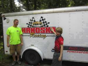 Krkoska Racing Trailer Decal