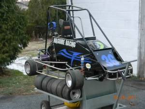 Mike Maguire's Quarter Midget with Accents
