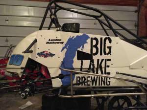 Quarter Midget Decals Big Lake Brewing
