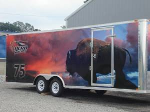 Herd Racing trailer wrap