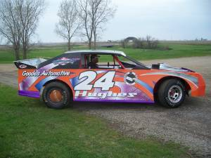 Race car digital graphics