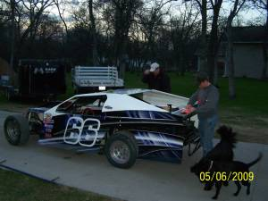 Modified race wrap