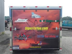 Trailer wrap back