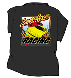 Racing Tshirts For Dirt Track Race Teams Crews Drivers And